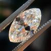 1.59ct Antique Marquise Cut Diamond GIA F VS2 1