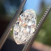 1.59ct Antique Marquise Cut Diamond GIA F VS2 12