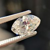 1.59ct Marquise/Moval Cut Diamond GIA G VS1 10
