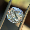 1.60ct Antique Cushion Cut GIA L, VS1 0