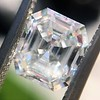 1.60ct Vintage Emerald Cut Diamond GIA G SI2 7