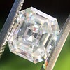 1.60ct Vintage Emerald Cut Diamond GIA G SI2 19