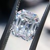 1.60ct Vintage Emerald Cut Diamond GIA G SI2 16