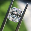 1.60ct Vintage Emerald Cut Diamond GIA G SI2 1