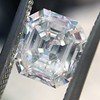 1.60ct Vintage Emerald Cut Diamond GIA G SI2 12
