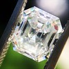 1.60ct Vintage Emerald Cut Diamond GIA G SI2 20