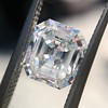 1.60ct Vintage Emerald Cut Diamond GIA G SI2 15