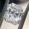 1.60ct Vintage Emerald Cut Diamond GIA G SI2 13