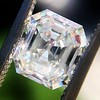 1.60ct Vintage Emerald Cut Diamond GIA G SI2 22