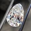 1.61ct Vintage Pear Cut Diamond GIA H SI1 2