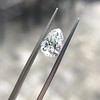 1.61ct Vintage Pear Cut Diamond GIA H SI1