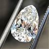 1.61ct Vintage Pear Cut Diamond GIA H SI1 7