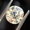 1.63ct Antique Cushion Cut Diamond GIA M VS2 6