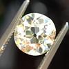 1.63ct Antique Cushion Cut Diamond GIA M VS2 5