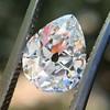 1.65ct Antique Pear Cut Diamond GIA F SI2 2
