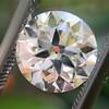 1.73ct Old European Cut Diamond GIA I VVS1 0