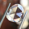 1.77ct Pear Shape Rose Cut Diamond GIA I VS2 11