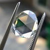 1.77ct Pear Shape Rose Cut Diamond GIA I VS2 9