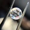 1.79ct Round Rose Cut Diamond GIA F SI2 2