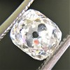 1.81ct Antique Cushion Cut Diamond, GIA L SI1 2