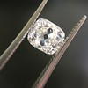 1.81ct Antique Cushion Cut Diamond, GIA L SI1 6