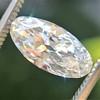 1.84ct Antique Moval Diamond GIA F SI2 3