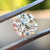 1.93 Old European Cut Diamond GIA L VS2 7