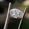 1.94ct Moval Shape Diamond, GIA G VS1 15