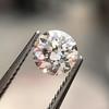 0.58ct Transitional Cut Diamond GIA H SI 1 7