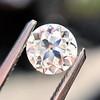 0.65ct Old European Cut Diamond GIA H SI1 1