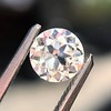0.65ct Old European Cut Diamond GIA H SI1 2
