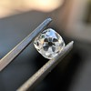 0.74ct Antique Cushion Cut GIA H SI1 12
