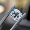0.74ct Antique Cushion Cut GIA H SI1 3