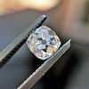 0.74ct Antique Cushion Cut GIA H SI1 10