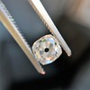 0.74ct Antique Cushion Cut GIA H SI1 14