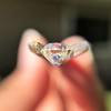 0.80ct Old European Cut Diamond GIA K VS2 5