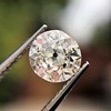 0.82ct Old European Cut GIA H SI 1 4