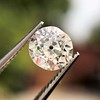 0.82ct Old European Cut GIA H SI 1 3