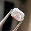 0.90ct Emerald Cut Diamond GIA J SI1 12
