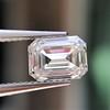 0.90ct Emerald Cut Diamond GIA J SI1 3
