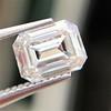 0.90ct Emerald Cut Diamond GIA J SI1 22