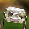 0.90ct Emerald Cut Diamond GIA J SI1 15