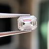 0.90ct Emerald Cut Diamond GIA J SI1 4