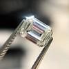 0.90ct Emerald Cut Diamond GIA J SI1 18
