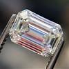 0.90ct Emerald Cut Diamond GIA J SI1 1