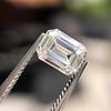 0.90ct Emerald Cut Diamond GIA J SI1 17