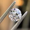 0.90ct Old European Cut Diamond GIA F VS1 1