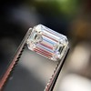0.91 Emerald Cut Diamond GIA I VVS1 16