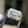 0.91 Emerald Cut Diamond GIA I VVS1 8