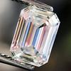 0.91 Emerald Cut Diamond GIA I VVS1 1